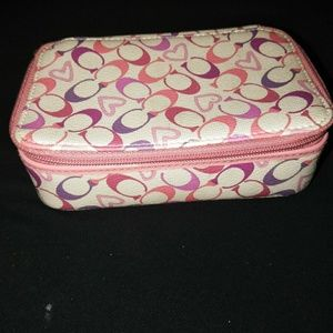 Coach jewelry box